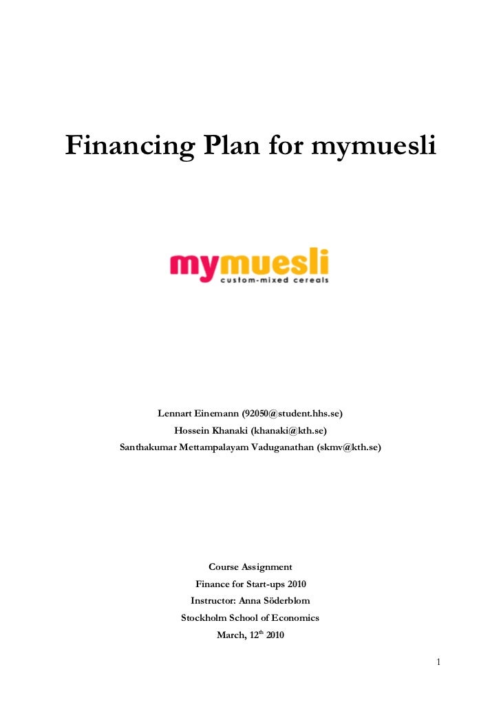 my muuesli marketing plan 3 days ago  a marketing plan gives you a systematic approach to developing your marketing  strategies a successful marketing plan will factor in many.