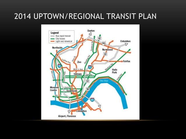 2014 UPTOWN/REGIONAL TRANSIT PLAN
