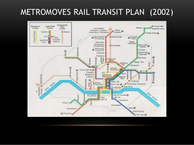 METROMOVES RAIL TRANSIT PLAN (2002)
