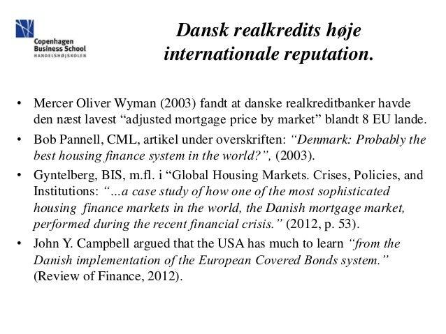 Finansforbundet 25 år der ændrede dansk realkredit Slide 2