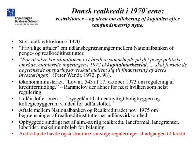 Finansforbundet 25 år der ændrede dansk realkredit Slide 3