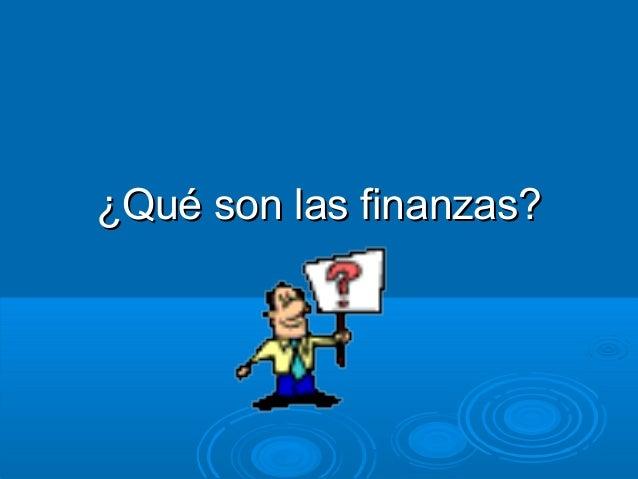 Finanzas Slide 2