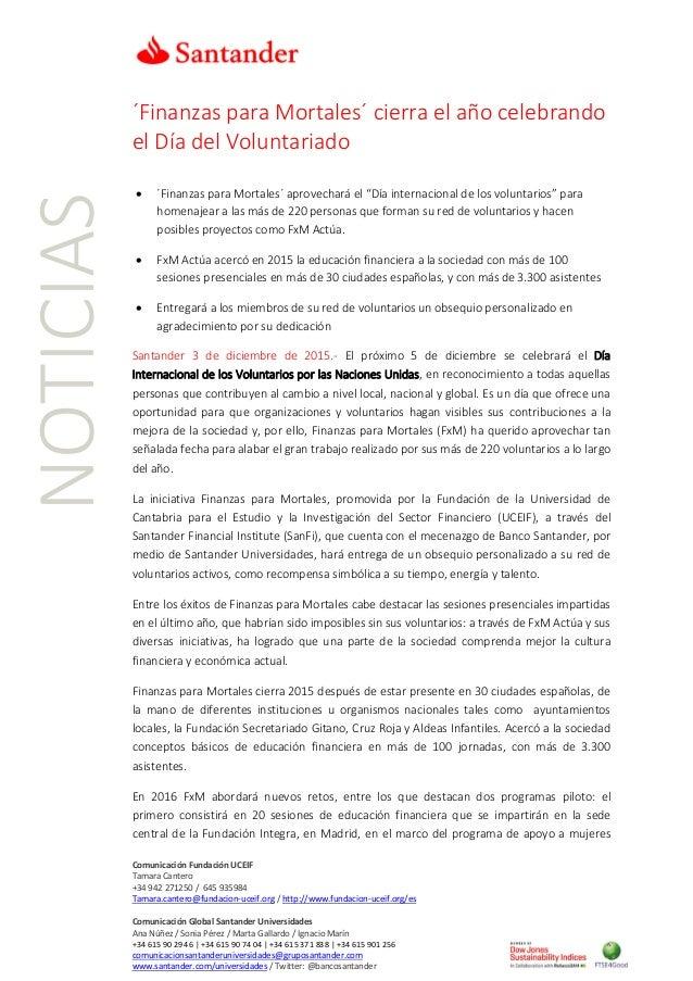 Comunicación Fundación UCEIF Tamara Cantero +34 942 271250 / 645 935984 Tamara.cantero@fundacion-uceif.org / http://www.fu...