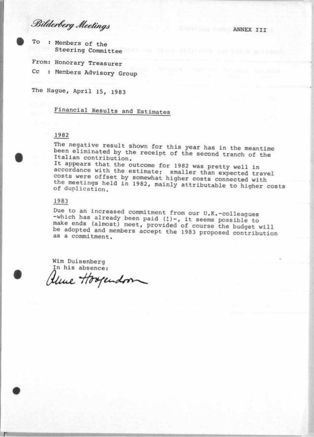 Finanzen 1983 bilderberger