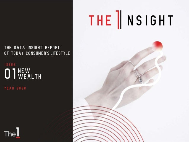 Year 2020 Issue THE DATA INSIGHT REPORT OF TODAY CONSUMER'SLIFESTYLE