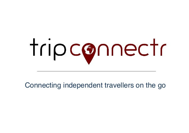 Connecting independent travellers on the go!