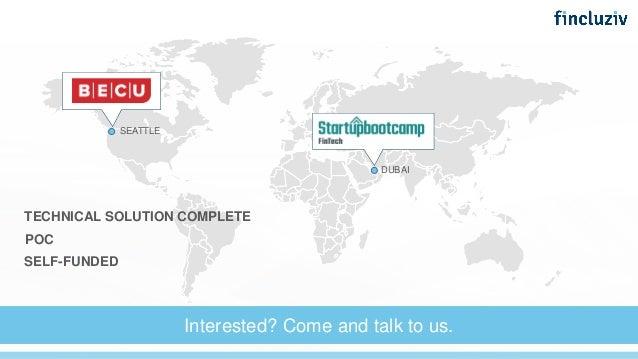 Fincluziv Startupbootcamp Fintech Demo Day Pitch