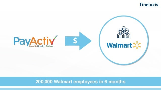 200,000 Walmart employees in 6 months