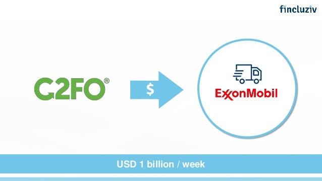 USD 1 billion / week