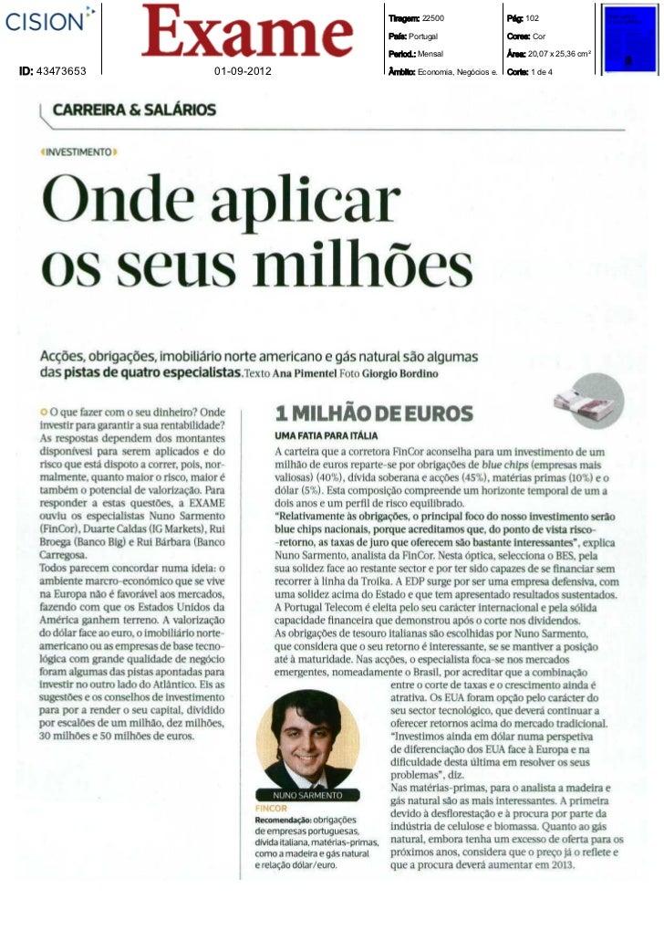 Tiragem: 22500                  Pág: 102                            País: Portugal                  Cores: Cor            ...