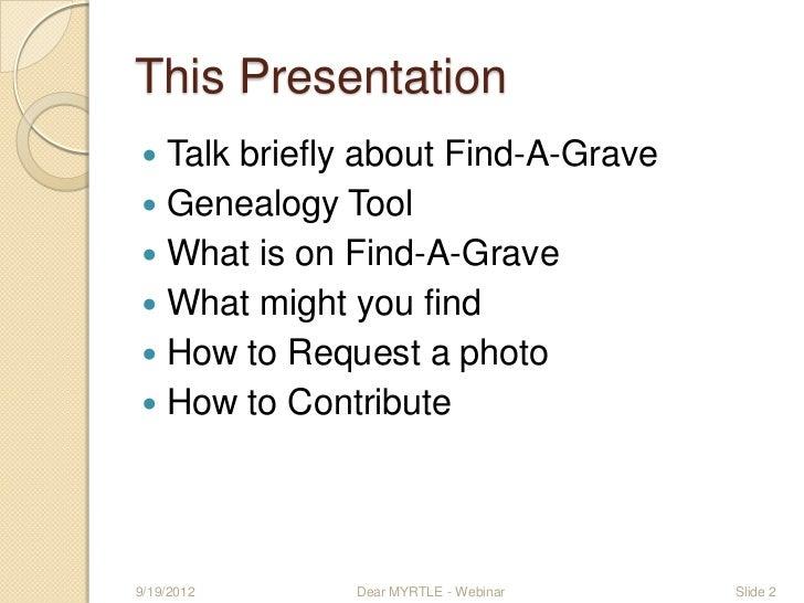 Find a-grave-webinar