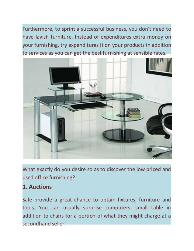 Find cheap and used office furniture which fits your workspace for Find used furniture