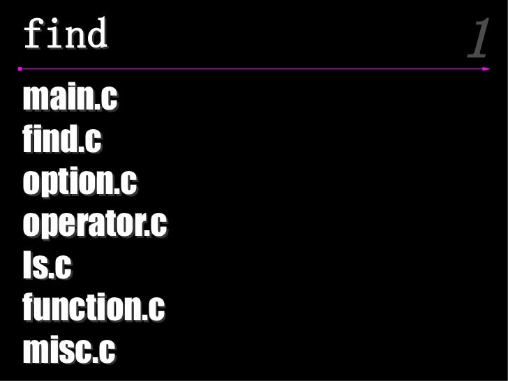find         1main.cfind.coption.coperator.cls.cfunction.cmisc.c