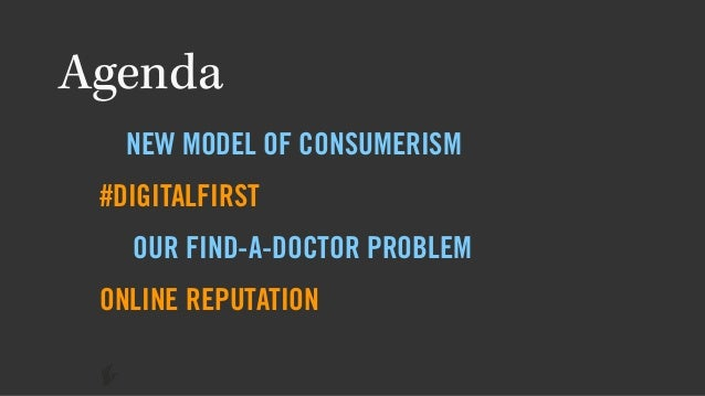 The Evolution of the Online Physician Profile Slide 2