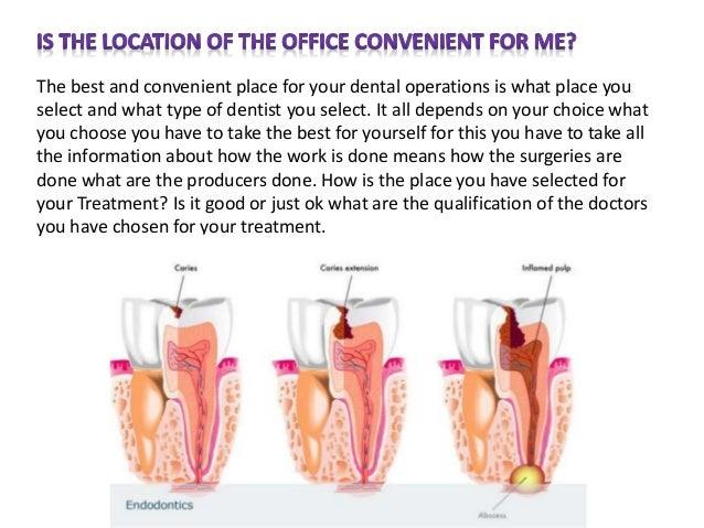 dentist question