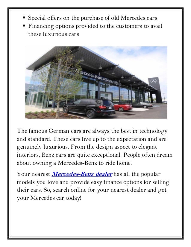 Find All The Luxurious Cars At Your Nearest Mercedes-Benz ...