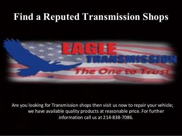 Find an Auto Repair Shops Near Me