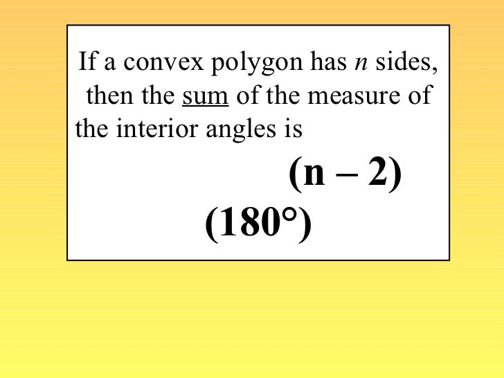 how to find out angles in a polygon