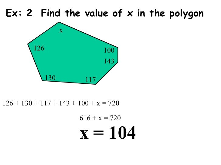 angle measures in a polygon
