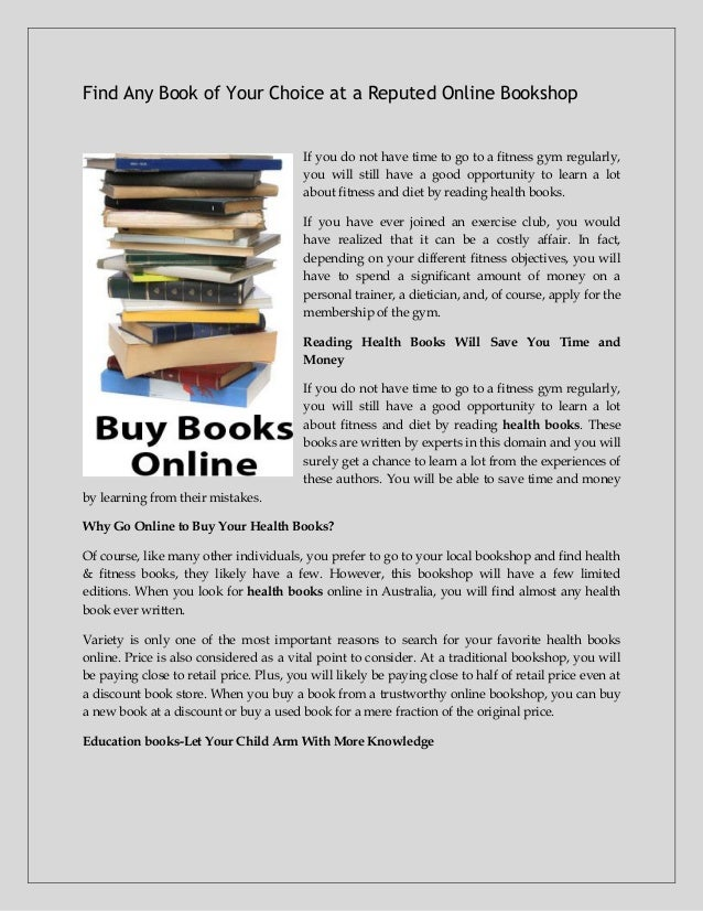 Find Any Book Of Your Choice At A Reputed Online Bookshop