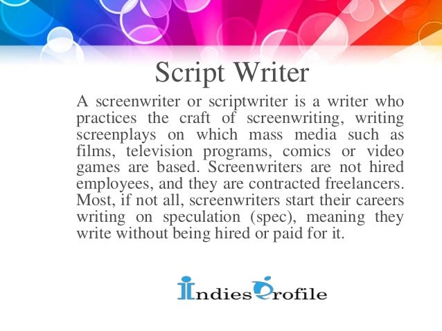 script writing internships 126 screenwriting jobs available on indeedcom freelance writer, production assistant, fellow and more.