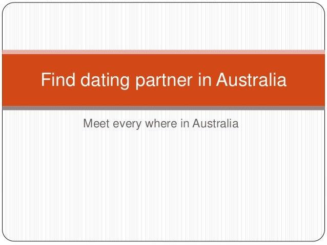 Find a partner in australia