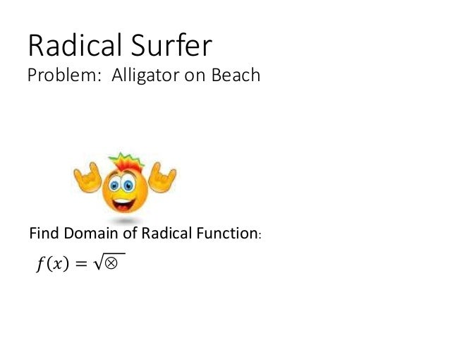 how to find the domain of a function algebraically