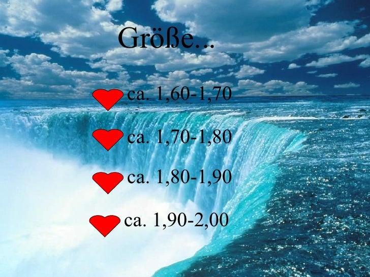 Größe... ca. 1,60-1,70 ca. 1,70-1,80 ca. 1,80-1,90 ca. 1,90-2,00