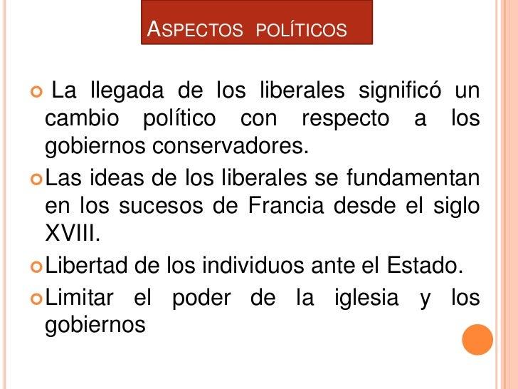 Fin del proyecto conservador y republica liberal - Republica de las ideas ...