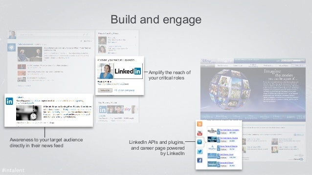 Build and engage  Awareness to your target audience  directly in their news feed  Amplify the reach of  your critical role...