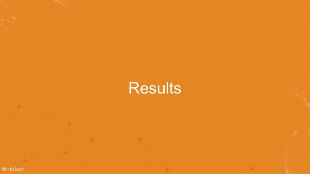 Results  #intalent