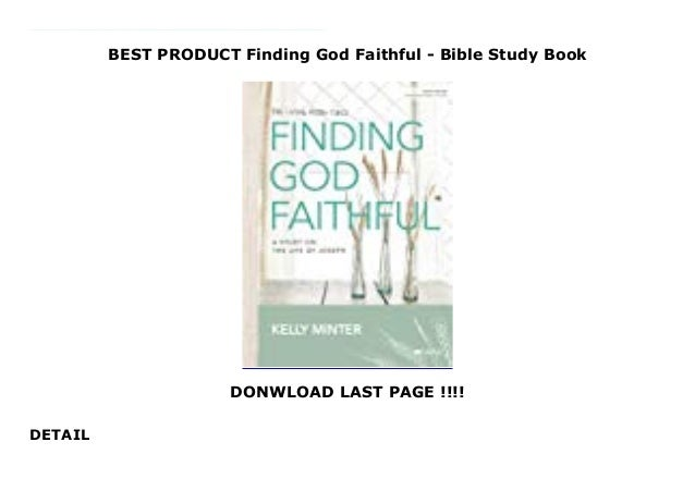 the faithful bible study