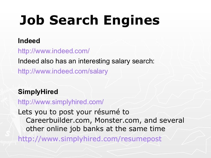 finding job opportunities