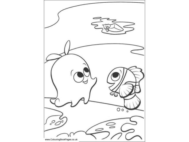 finding nemo colouring pages and kids colouring activities - Colouring In Activities
