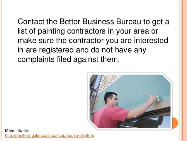 Finding a Good Painting Contractor