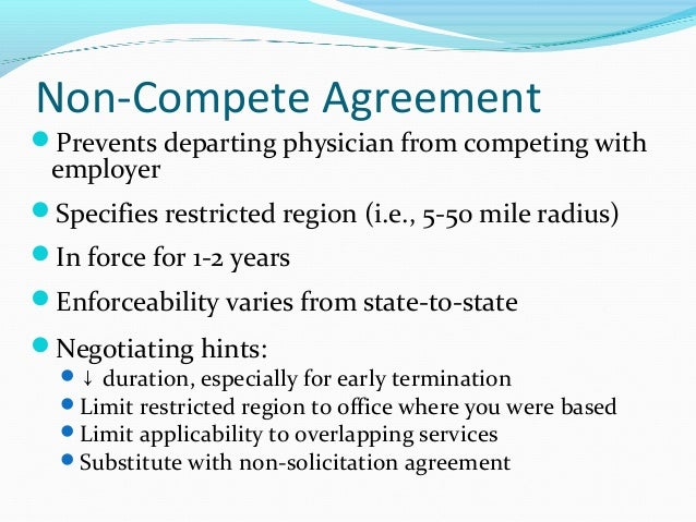 Finding a job and negotiating an agreement in allergyimmunology aa non solicitation platinumwayz