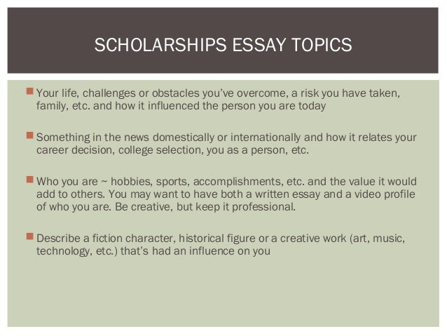 overcoming obstacles essay scholarships