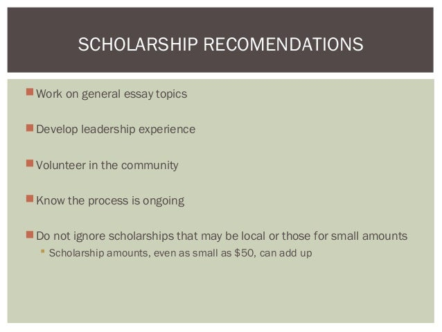 scholarship documents representing economic need
