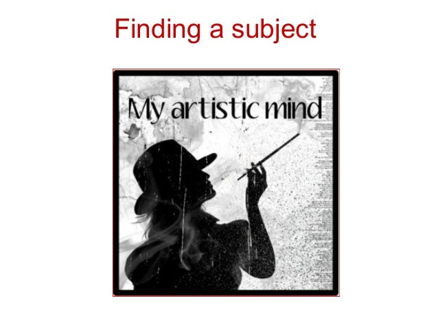 Finding a subject