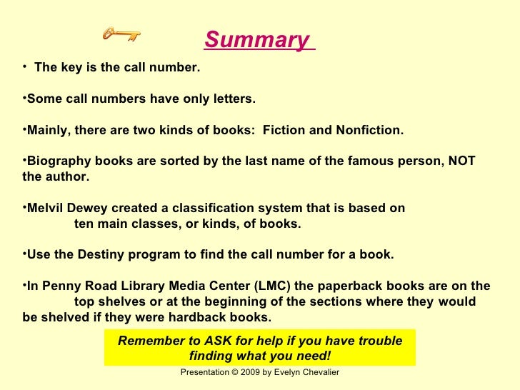 Finding Books Tutorial Post