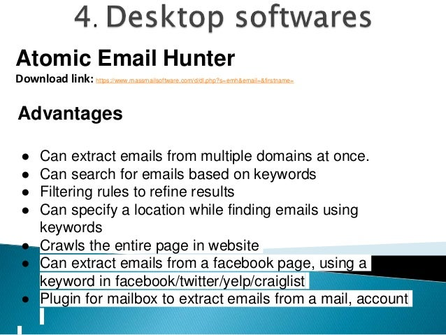 Finding emails for email outreach campaigns