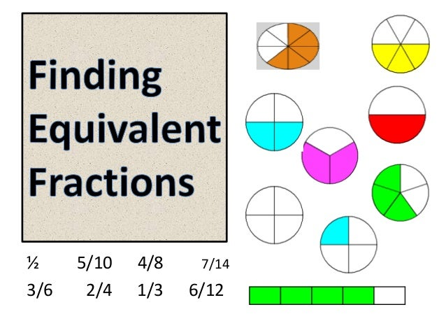 Finding equivalent fractions grade 5
