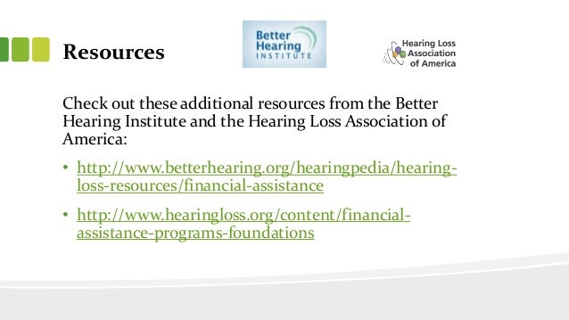 finding financial assistance for your hearing aids