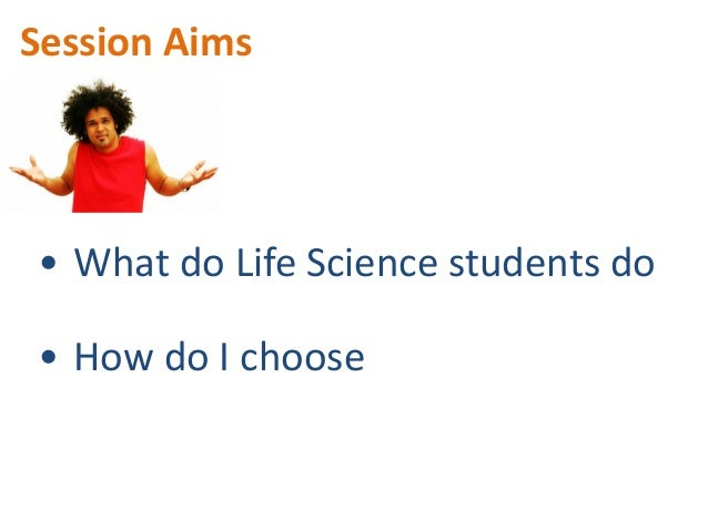 Finding first steps in life sciences Slide 2