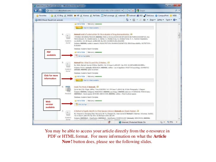 PDF  availableClick for moreinformation Web- version availableYou may be able to access your article directly from the e-r...