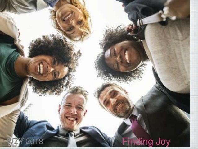 Finding JoyWZY 2018