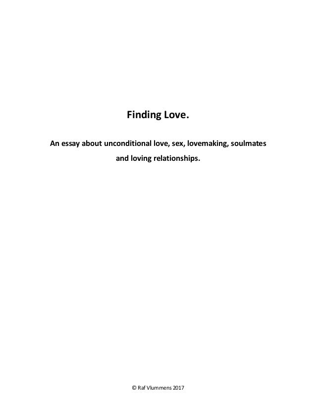 In love relationship what a unconditional is Dating Tips: