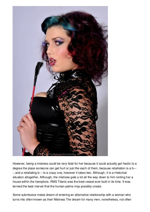 find a mistress online