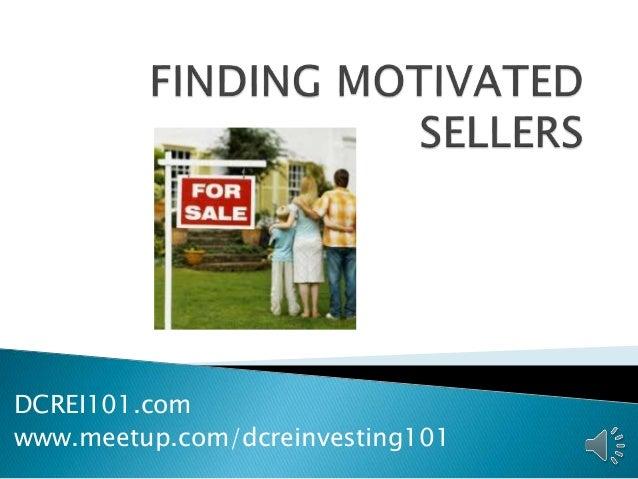 DCREI101.com www.meetup.com/dcreinvesting101