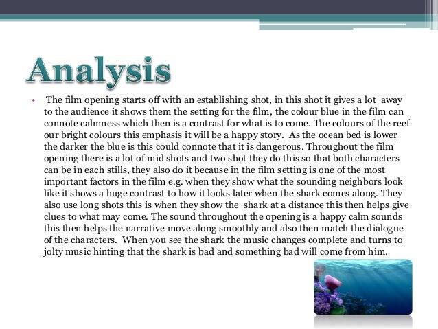 finding nemo character analysis